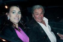 Aurélie FILIPPETTI et Alain DELON - Festival de Cannes 2013 - Photo © Anik COUBLE