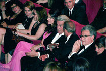 Aurélie FILIPPETTI, Alain DELON et Bertrand DELANOE - Festival de Cannes 2013 - Photo © Anik COUBLE