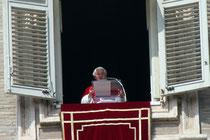 Benoît XVI - Rome - Mars 2012 © Anik COUBLE