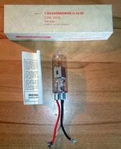 Deuteriumlampe Quarzbrenner Carl Zeiss H 30 DS, NEU, NOS