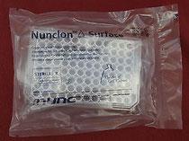 Mikrotestplatte mit 96 Vertiefungen rund