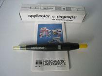 Applikator für Ringcaps