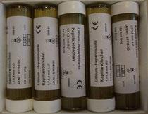 Lithium-Heparinisierte Kapillarröhrchen 100 Stk. pro Packung
