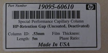 Leer-Kapillarsäule HP-Retention Gap (Uncoated,Deactivated)