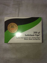 Pipettenspitzen 200µl Biozym für Gilson Pipetman P-200