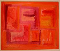 Acryl-Objekt Q - verkauft