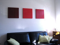 Acryl-Objekte V