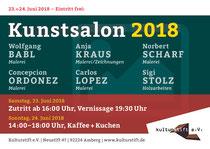 Plakat Kunstsalon