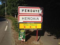 Arrivée à Hendaye