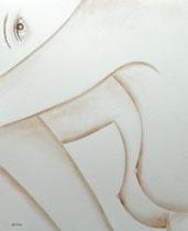 Espresso marc de café: Arches 300gr, 56 x 43 cm