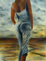 Fullness fusain, pastels aquarelle: Arches, 30 x 40 cm