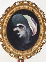 Le Jockey (huile sur toile, 46 x 37 cm, coll. part. MR)