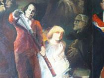 La ronde de nuit, 1977, détail