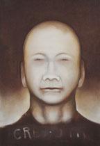 Exécuteur, exécuté (huile sur bois, 128 x 87 cm, coll.part. GR)