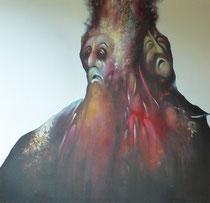 Moctezuma, 1980, (huile sur toile, 133 x 138 cm, coll. part. GR)