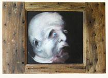 Le grand père (huile sur bois, 63 x 44 cm, coll. part. MR)