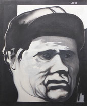 Le jockey (huile sur toile, 82 x 59 cm, coll. part. MR)