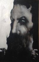 Le prophète à l'oeil vert, reprise, env. 2003,  (huile sur toile, 63 x 100, coll. part. CN)