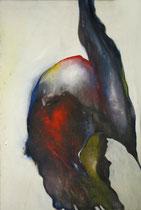 Abstraite, env. 1980 (huile sur toile, 120 x 90 cm, coll. part. EGL)