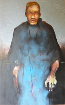 Le taupier (huile sur toile, 104 x 169 cm, coll. part. GR)