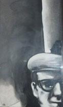 Monsieur William, env. 1980 (huile, coll. part. MR)