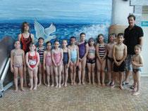 Bronzegruppe 1 mit Trainer Markus und Assi Lina