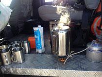 Ein Kaffe zum Frühstart
