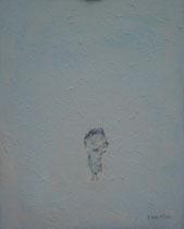 KLEINE FIGUR III, Acryl  100X80 cm 1.900,-€