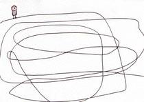 FIGUR (WEGE) I.1  10X14,5 cm  90,-€