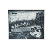 VOYEURE II  1980, 23X28 cm  165,-€