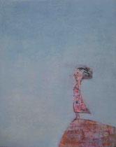 WIND (WEIBLICH) I, Acryl  100X80 cm