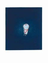 FAUST (NACH OBEN)  32X28 cm 165,-€
