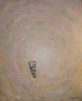 KLEINE FIGUR I, Acryl  100X80 cm 1.900,-€