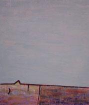 LIEGENDER II, Acryl  80X68 cm 1.500,-€