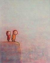 ABHANG (PAAR), Acryl  100X80 cm 1.900,-€
