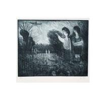 VOYEURE I  1980, 23X28 cm  165,-€
