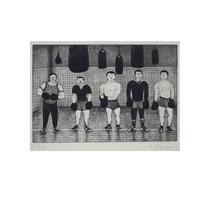 BOXER  1984, 20x30 cm  165,-€