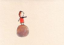 BALANCE (BALL) VI   10X14,5 cm 90,-€
