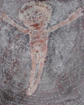 GEKREUZIGTER II, Acryl  100X80 cm 1.900,-€