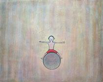 BALL II, Acryl  80X100 cm 1.900,-€