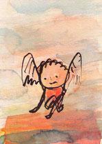 ENGEL (SITZEND) I.1  14,5X10 cm 90,-€