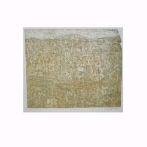 SAALELANDSCHAFT  1994, 31X37 cm  165,-€