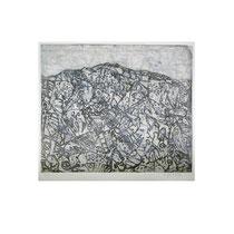 GEBIRGE III  1992,30X36 cm  165,-€
