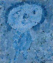 FIGUR I, Acryl  80X68 cm 1.500,-€