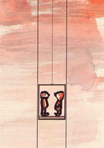 FAHRSTUHL VII.2.2  14,5X10 cm 90,-€