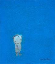 KLEINE FIGUR IV, Acryl  80X68 cm 1.500,-€