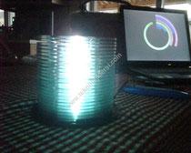 CD den yapılan lamba