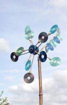 CD den yapılan rüzgar gülü