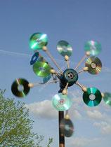 CD den yapılan rüzgar paneli