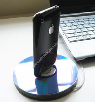 CD den yapılan ipod standı